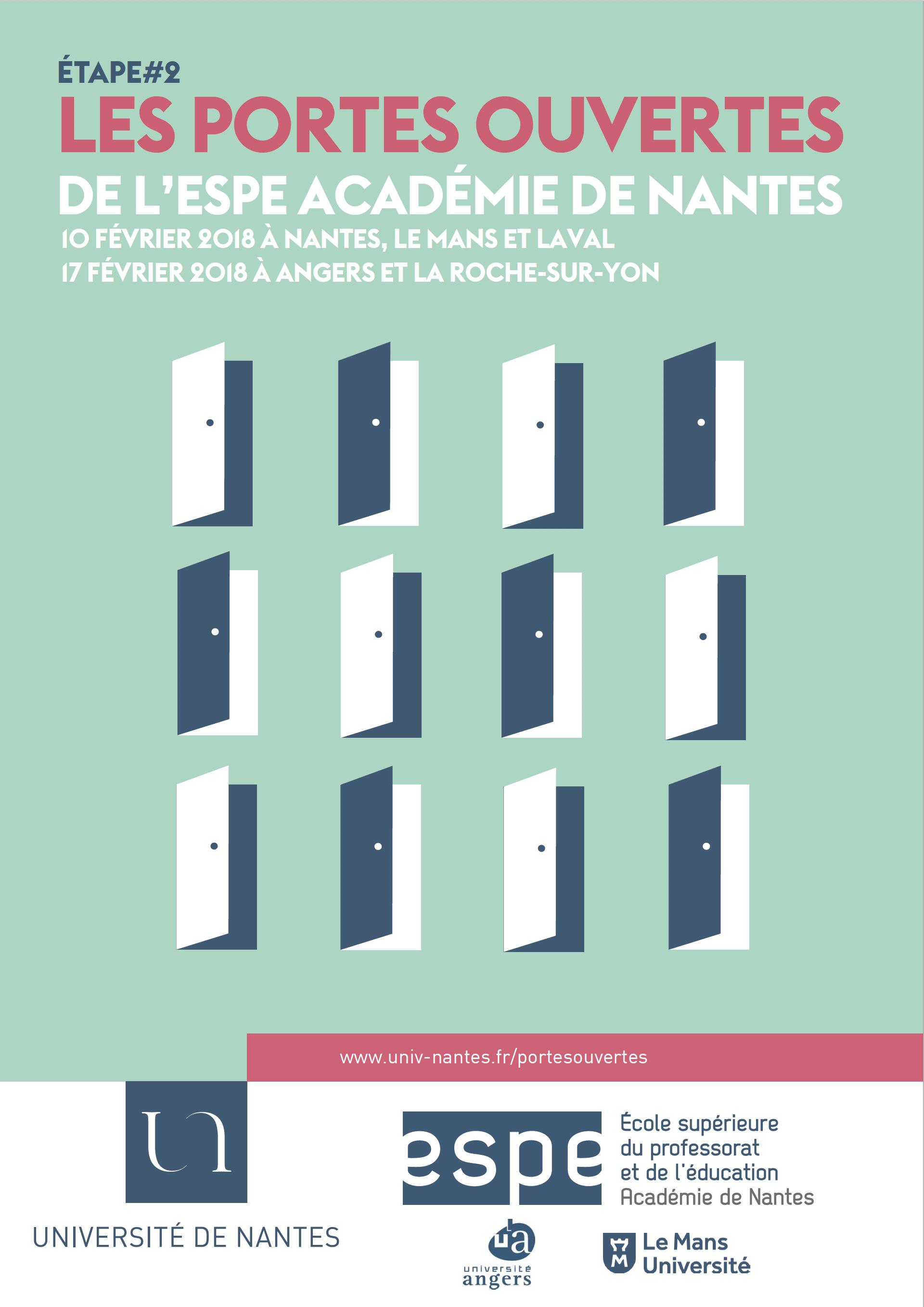 Affiche JPO Univ Nantes ESPE
