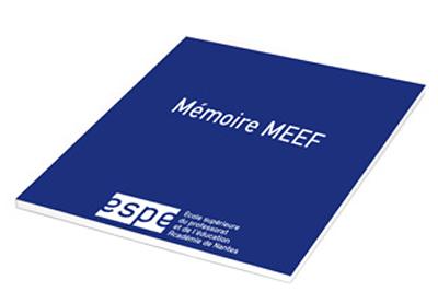 couverture mémoire MEEF