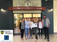 Six éudiants de l'ESPE à Regina